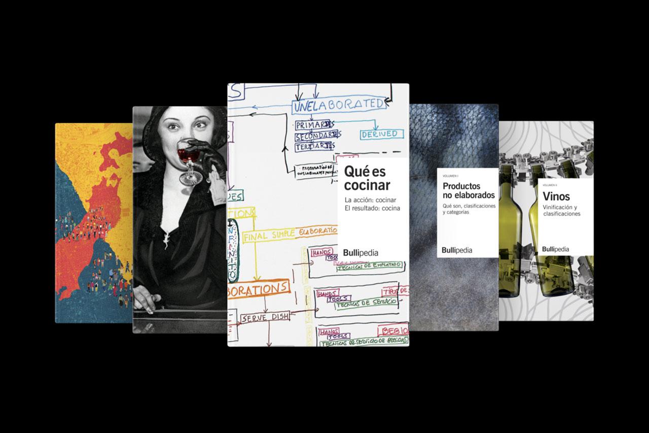 Bullipedia - Enciclopedia gastronómica de Ferran Adrià y el equipo de elBulli - dosgrapas | Estudio de diseño gráfico en Barcelona