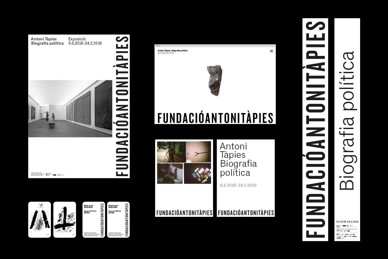 Façana de la Fundació Antoni Tàpies - dosgrapas