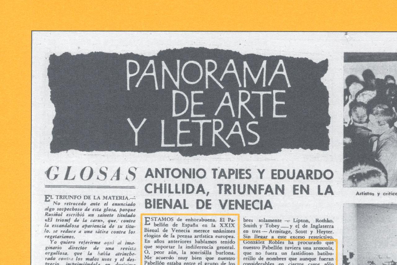 iseño de la publicación ''Venezia 1958'' - dosgrapas